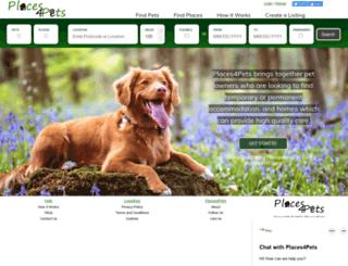 places4pets.com screenshot