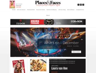 placesandfaces.co.uk screenshot