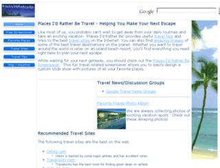 placesidratherbe.com screenshot
