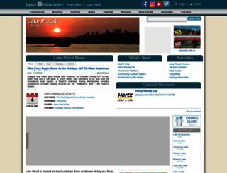 placid-tx.lakesonline.com screenshot