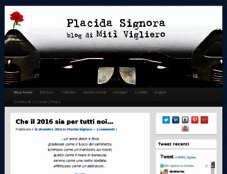 placidasignora.com screenshot