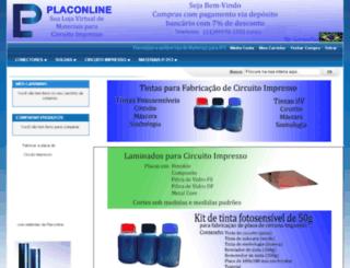 placonline.com.br screenshot