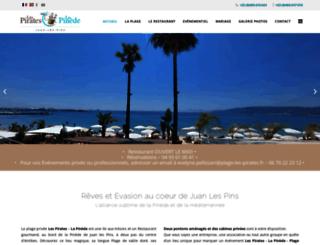 plage-les-pirates.fr screenshot