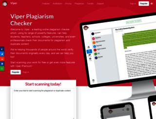 plagiarism-detect.org screenshot