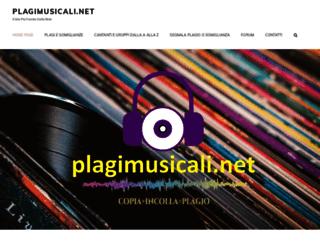 plagimusicali.net screenshot