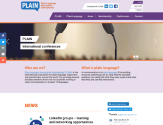 plainlanguagenetwork.org screenshot