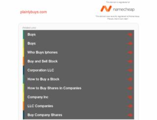 plainlybuys.com screenshot
