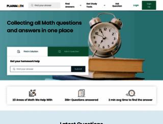 plainmath.net screenshot
