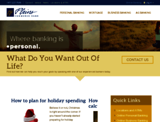 plainscommerce.clickrain.com screenshot