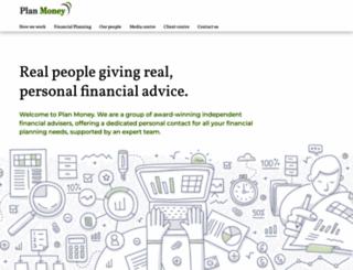 plan-money.co.uk screenshot