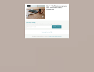 plan-v-the-failsafe-charger-you-cant-leave-home-wi.backerkit.com screenshot