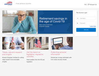 plan.empower-retirement.com screenshot