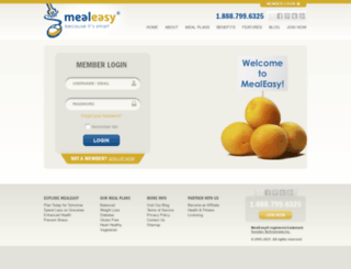 plan.mealeasy.com screenshot