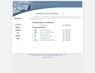plan.prz.edu.pl screenshot