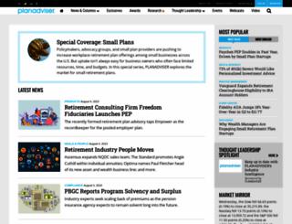 planadviser.com screenshot