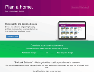 planahome.ie screenshot