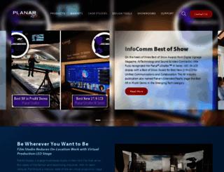 planar.com screenshot