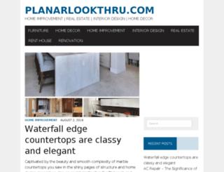 planarlookthru.com screenshot