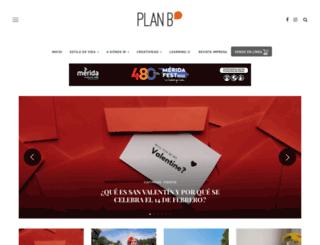 planb.mx screenshot