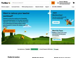 planbee.com screenshot