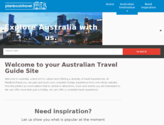 planbooktravel.com.au screenshot