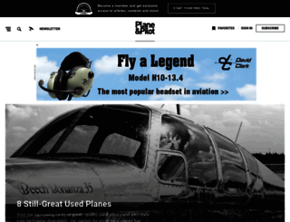 planeandpilotmag.com screenshot