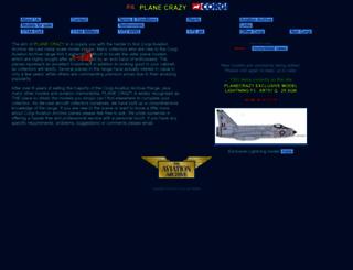 planecrazy.biz screenshot