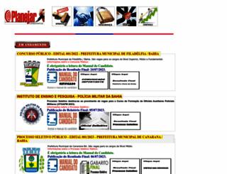 planejarconcursos.com.br screenshot