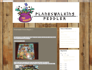 planeswalkingpeddler.blogspot.com screenshot