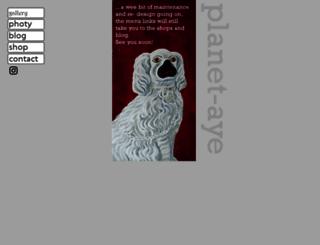planet-aye.co.uk screenshot