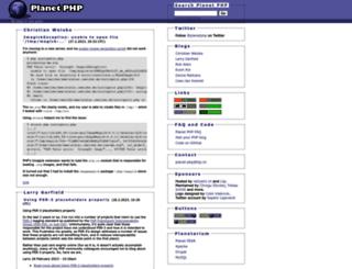 planet-php.net screenshot