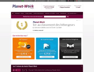 planet-work.com screenshot