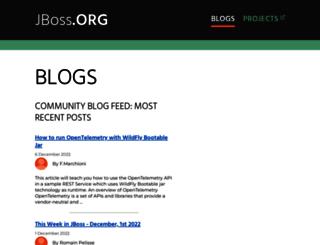 planet.jboss.org screenshot