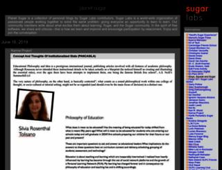 planet.sugarlabs.org screenshot