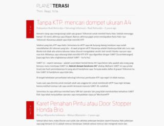 planet.terasi.net screenshot