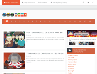 planeta-southpark.blogspot.cl screenshot