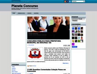 planetaconcurso.blogspot.com.br screenshot