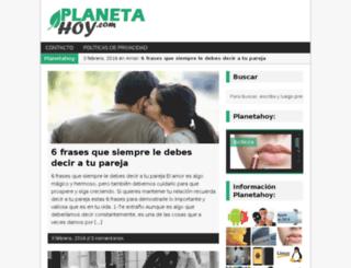 planetahoy.com screenshot