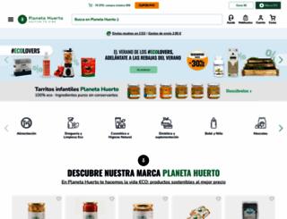 planetahuerto.com screenshot
