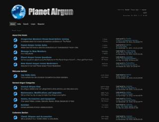 planetairgun.com screenshot