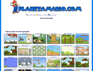 planetamario.com screenshot