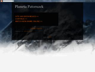 planetapatoruzek.blogspot.com.ar screenshot