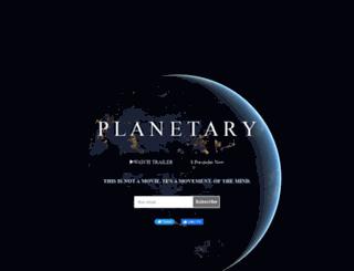 planetary.vhx.tv screenshot