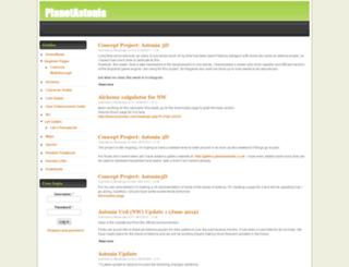 planetastonia.co.uk screenshot
