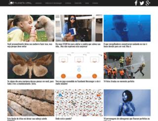 planetaviral.com.br screenshot