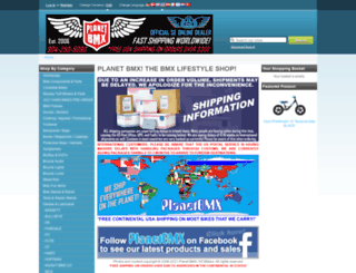 planetbmx.com screenshot