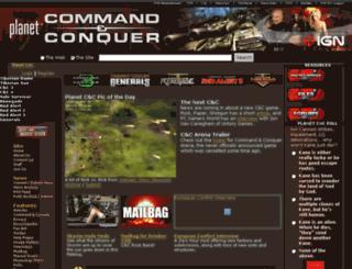 planetcnc.gamespy.com screenshot