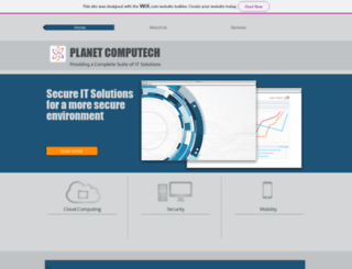 planetcomputech.com screenshot