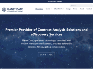 planetdata.com screenshot
