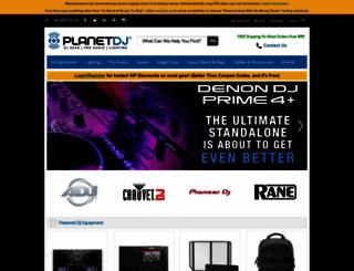 planetdj.com screenshot